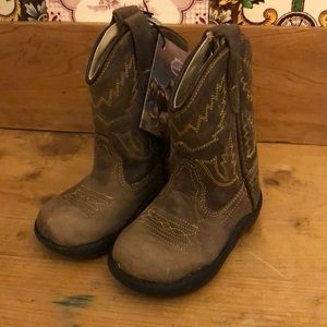 Old west pull on cowboy boots toddler size 5 new
